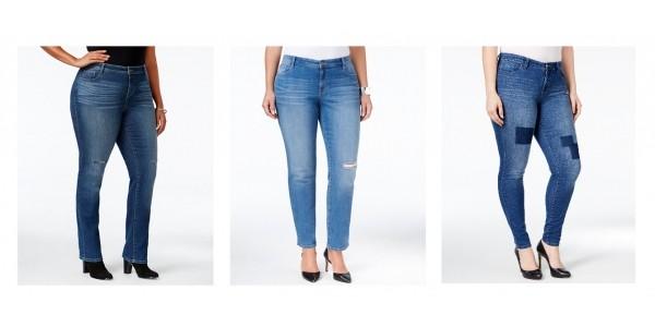 Plus Size Women's Jeans $15 @ Macy's