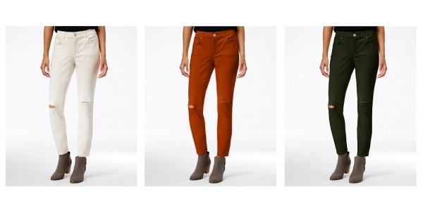 Women's Ripped Jeans $6.65 @ Macy's