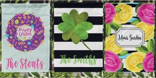 Personalized Garden Flags $12 Today Only @ Jane
