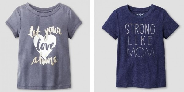 Cat & Jack Tees As Low As $2.25 @ Target