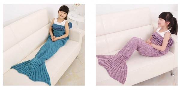 Children's Mermaid Blanket $5 @ Amazon