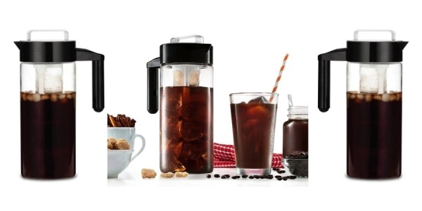 Francois et Mimi Glass Iced Coffee Maker $10 @ Amazon