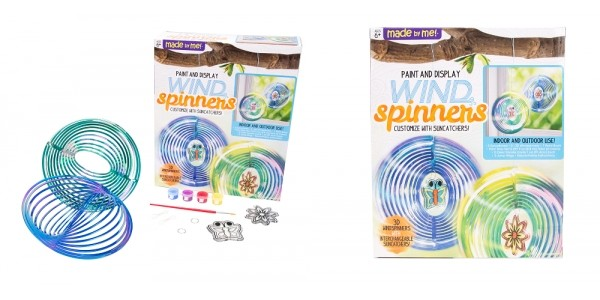 Made By Me Paint And Display Wind Spinners $3.89 @ Amazon