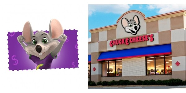 $15 Chuck E. Cheese eGift Card Only $10 @ Groupon