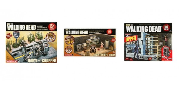 The Walking Dead Building Sets From $5.50 @ Hollar