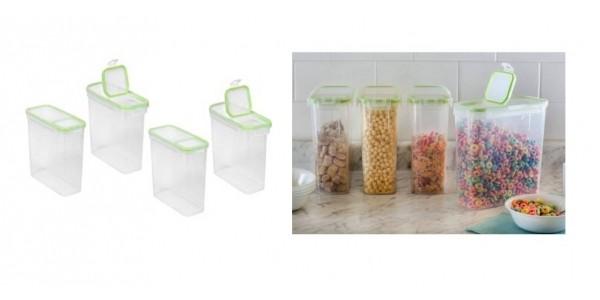 Snapware Airtight Plastic 15.3-Cup Fliptop Food Storage Container 4-Pack $12 @ Walmart