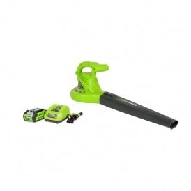 GreenWorks Electric Blower $24 @ Amazon