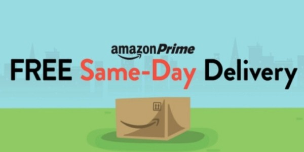 Free Same-Day & One-Day Delivery for Prime Members @ Amazon