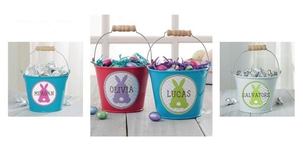 Easter Bunny Personalized Mini Treat Buckets $6.75 Shipped @ Personalization Mall