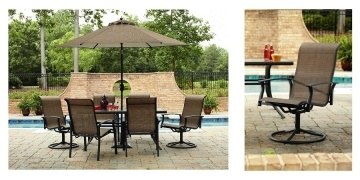 Online Today Only Hampton Bay 7 Piece Middletown Dining Set w