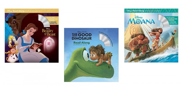 Disney Read Along Story Books With CD $3.73 @ Amazon