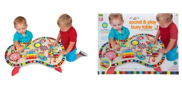 ALEX Jr. Sound And Play Busy Table $30 @ Walmart