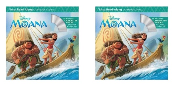 Moana Read-Along Storybook & CD $3 @ Walmart / Amazon
