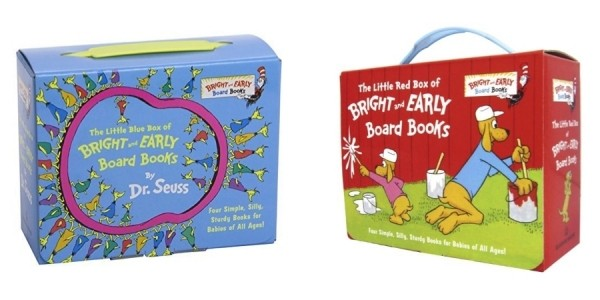 Little Blue (or Red) Box of Bright and Early Board Books just $8 @ Walmart