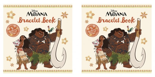 Moana Bracelet Book $4.99 @ Amazon