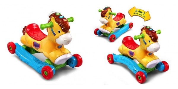 VTech Gallop & Rock Learning Pony Interactive Ride-On Toy $20 Shipped @ Toys R Us