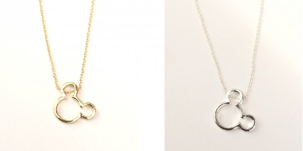 Dainty Mouse Ears Necklace $6.99 @ Jane