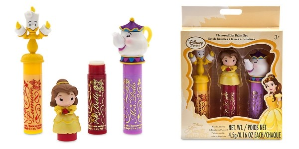 Beauty and the Beast Lip Balm Set $8 @ The Disney Store