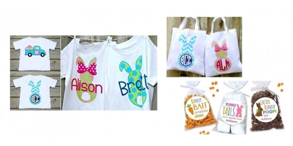 Easter Shop: Personalized Shirts $11, Totes $8 & More @ Jane