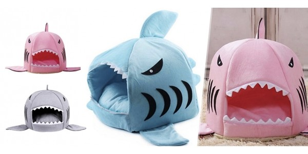 Shark Themed Dog Beds Only $11 @ Amazon