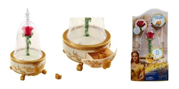 Disney Beauty & The Beast Enchanted Rose Jewelry Box $16 @ Target
