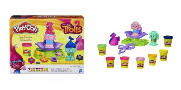 Play-Doh Dreamworks Trolls Press 'n Style Salon $13 @ Toys R Us