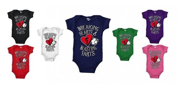 Breaking Hearts & Blasting Farts Bodysuits $12 @ Amazon