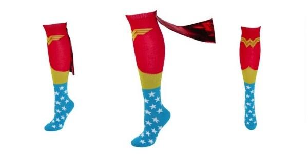 Knee-High Wonder Woman Caped Socks $5 Shipped @ Wish