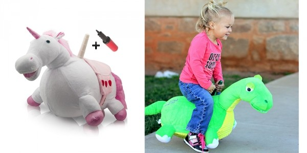 Bouncing Plush Ride-On's From $24 @ Amazon