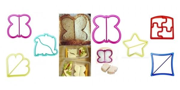 Kids Sandwich/Food Shape Cutter $1 Shipped @ AliExpress