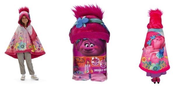 Trolls Poppy Love Snuggle Wrap $15 @ Toys R Us (& More Disney/Nickelodeon Characters Too!)