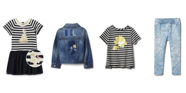 Disney Beauty & The Beast Collection + 35% Off w/ Code @ GAP