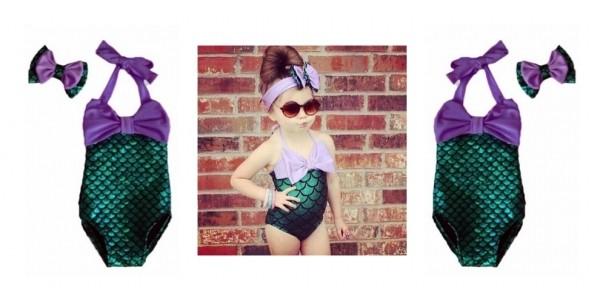 Girls (& Women's) Mermaid Bathing Suit $10 @ AliExpress