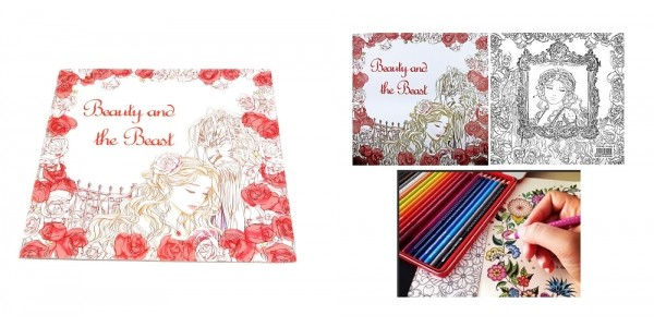 Beauty And The Beast Adult Coloring Book $3.72 Shipped @ Amazon