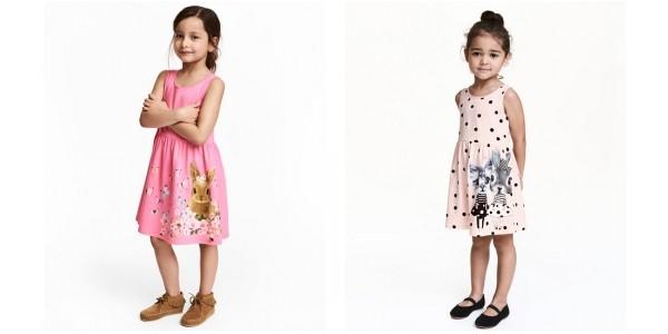 Bunny Rabbit Jersey Dresses $4.99 @ H&M