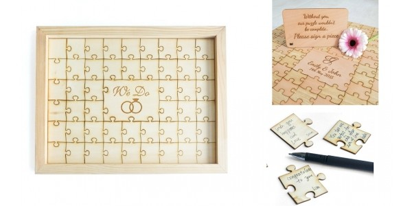 Wedding Puzzle Guest Book $29.99 @ Amazon