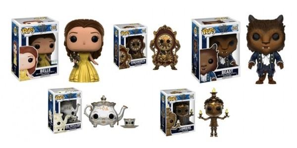 POP! Disney Beauty & The Beast Figures Under $10 @ Barnes & Noble