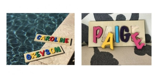 Personalized Kids Name Puzzles $16 @ Jane
