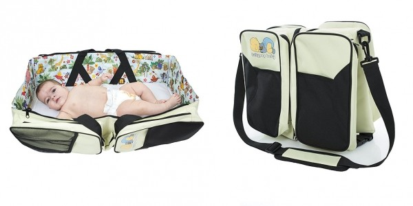 3-In-1 Diaper Bag That Unfolds To Bassinet $19.99 @ Amazon