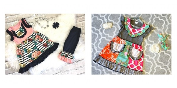 Girls' Sadie & Macie Boutique Style Spring Dresses $13 @ Screaming Owl