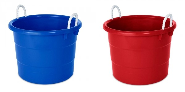 GLITCH: 18-Gal Tubs (Set of 8) ONLY $5.88 @ Home Depot