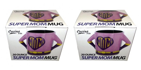 Cucina Vita 20-oz Super Mom Coffee Mug $11 Shipped @ Walmart