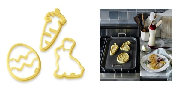Easter Silicone Pancake Mold Set $10 @ Williams Sonoma