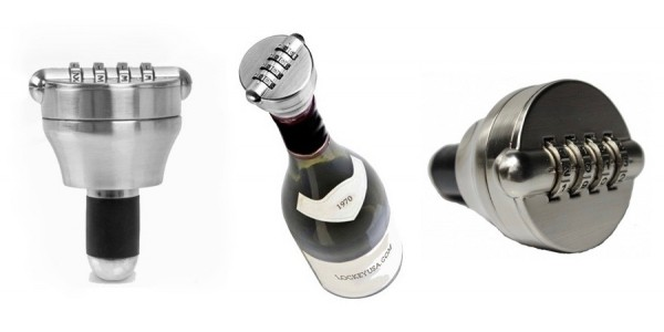 Combo-Cork Bottle Lock Wine Stopper $17 @ Wayfair
