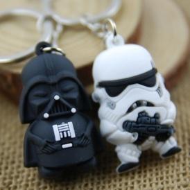 Darth Vader & Storm Teooper Keyrings $1