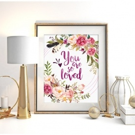 TWO Watercolor Prints Just $4.99 @ Jane