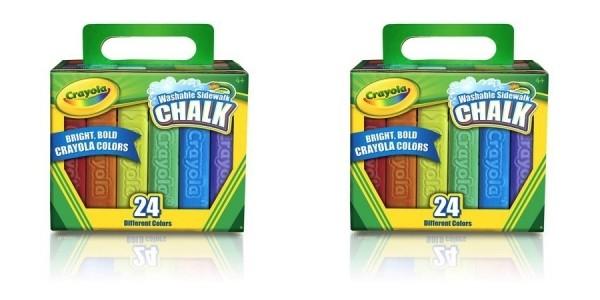 24-Count Crayola Sidewalk Chalk $2 @ Walmart