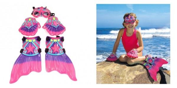 Mermaid Deluxe Swim Gear $27 @ Amazon