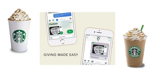 $10 eGift Card for $5 w/ New Starbucks iMessage App @ Starbucks