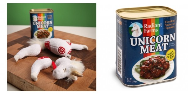Canned Unicorn Meat $11 @ eBay